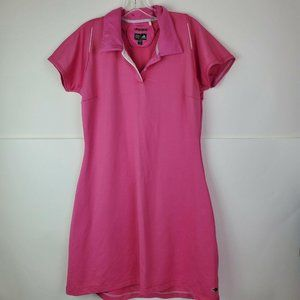Adidas Womens Pink Climacool Tennis Dress Athletic
